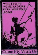 Windriders Kite Festival 2003 pin - Courtesy Ron Miller
