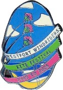 Windriders Kite Festival 2005 pin - Courtesy Ron Miller